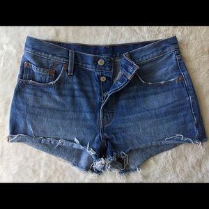 501 Levi's Denim Shorts